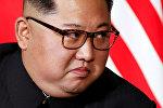 Архивное фото главы Северной Кореи Ким Чен Ына