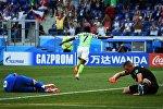 Футбол. ЧМ-2018. Матч Нигерия - Исландия