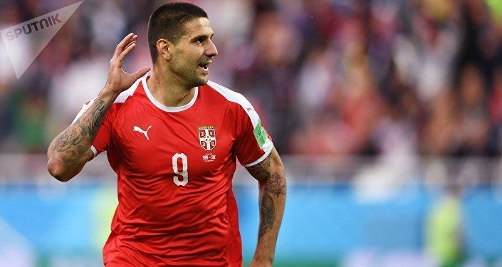 На пятой минуте серб Александар Митрович открыл счет