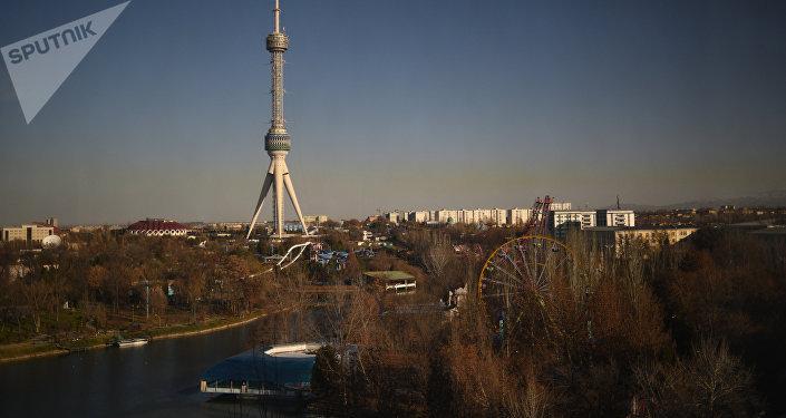Вид на город Ташкент. Архивное фото