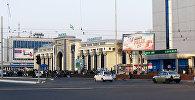 Железнодорожный вокзал в городе Ташкент (Узбекистан)