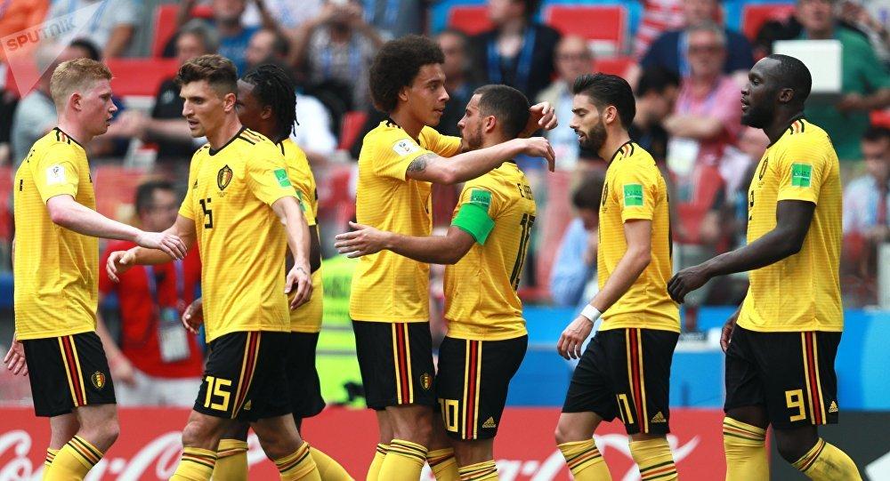 Бельгиянын футбол боюнча курама командасы дүйнөлүк мелдеште Тунисти 5:2 эсебинде жеңип алды