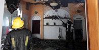 Пожар в одном из бишкекских ресторанов