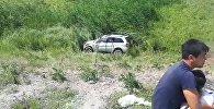 Бишкекте эки автоунаа бетме-бет кагышты. Кырсыктын видеосу