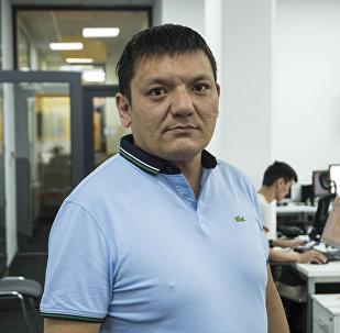 Соучредитель интеллектуального клуба Просветление, правозащитник и блогер Азамат Булатов. Архивное фото