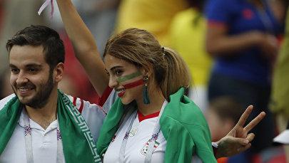 Россияда өтүп жаткан футбол боюнча дүйнөлүк чемпионатта тартылган ирандык күйөрмандары