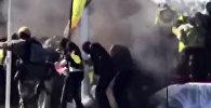 Взрыв под ногами — опубликовано видео покушения на президента Зимбабве