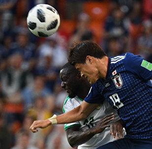Футбол. ЧМ-2018. Матч Япония - Сенегал