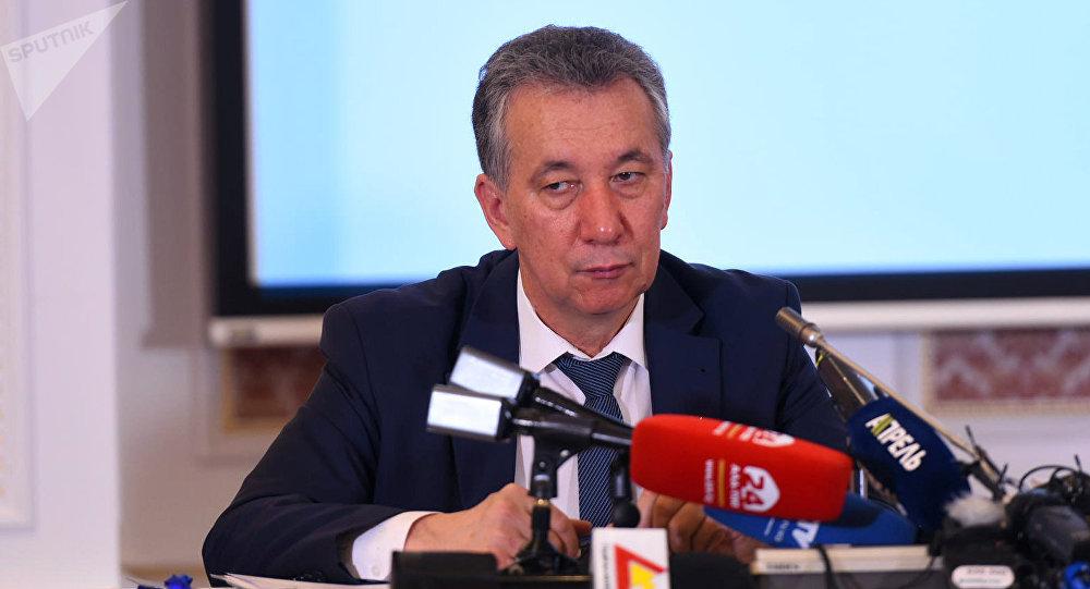 Член политсовета Социал-демократической партии Кыргызстана Фарид Ниязов. Архивное фото