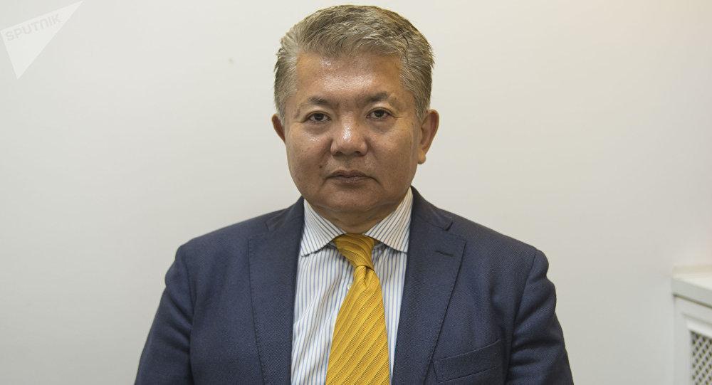 Кыргызстандын Россия жана Армениядагы элчиси Аликбек Жекшенкулов
