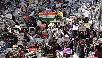 Протесты против изнасилований в Индии. Архивное фото