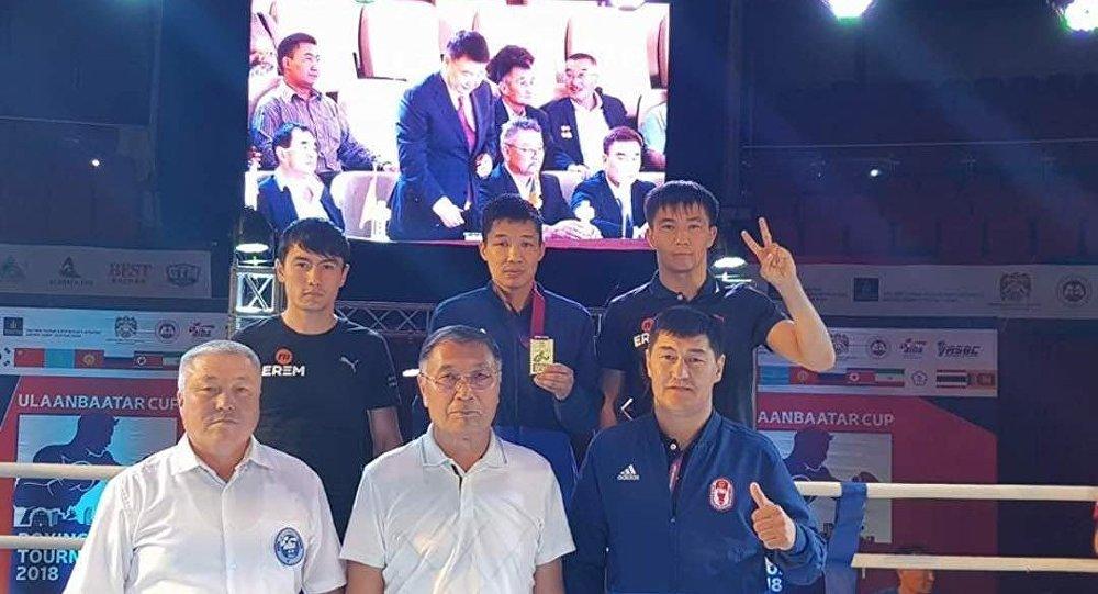 Кыргызстандык боксчу Азат Усеналиев Монголиядагы эл аралык Ulanbaatar Cup-2018 турниринде алтын байгеге ээ болду