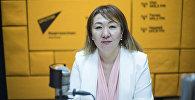 Коомдук саламаттык сактоо башкармалыгынын жетекчиси Айнура Акматова