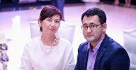 Депутат Жогорку Кенеша Махабат Мавлянова с супругом Айбеком. Архивное фото