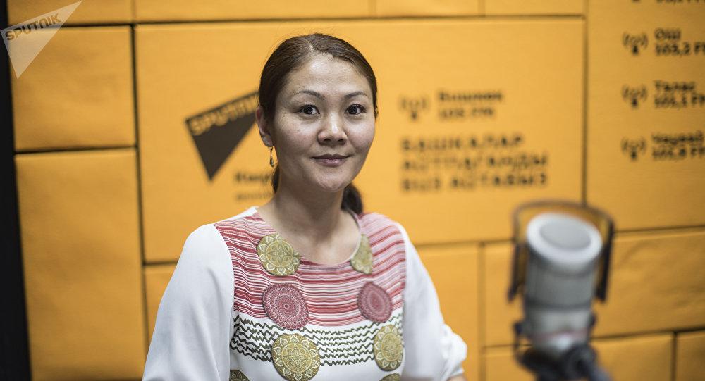 Руководитель пресс-службы ОАО Национальная электрическая сеть Кыргызстана Эльзада Саргашкаева. Архивное фото