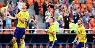 Швециянын футболчулары дүйнөлүк чемпионатта Мексиканын командасын 3:0 утуп алды