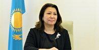 Директор Департамента науки и человеческих ресурсов Министерства здравоохранения РК Айгуль Каптагаева. Архивное фото
