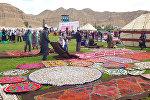 Международный фестиваль Кыргыз шырдагы в Нарынской области