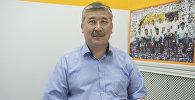 Улуттук госпиталдын кан тамыр хирургиясы бөлүмүнүн башчысы Таалай Байсекеев. Архив