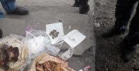 В изолятор временного содержания Сокулукского РОВД пытались пронести наркотики, спрятанные в курице гриль