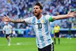 Аргентиналык футболчу, Барселона клубунун капитаны Лионель Месси. Архив