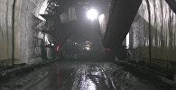 Кыргызстандагы эң узун тоннель кантип курулууда. Көк-Арт ашуусундагы видео