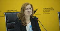 Президент Центра развития возобновляемых источников энергии и энергоэффективности КР Татьяна Веденева. Архивное фото