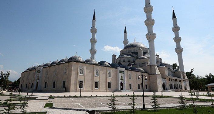 Бишкектеги борбор мечит. Архив