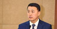 Архивное фото вице-премьер-министра Кыргызской Республики Замирбека Аскарова