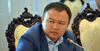 Депутат ЖК 6 созыва Аттокуров Данияр от фракции СДПК. Архивное фото