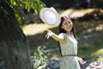 Выпускница Айлин Албанова, получившая  золотой сертификат на ОРТ и 100-процентную скидку на поступление во все вузы страны