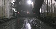 Как строится самый длинный тоннель в КР — видео с перевала Кок-Арт