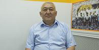 Улуттук госпиталдын кан тамырлар хирургиясы бөлүмүнүн дарыгери Жунус Акишев