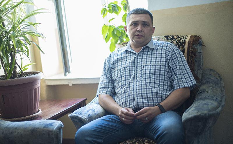 Директор Центра реабилитации беспризорных детей Алексей Петрушевский