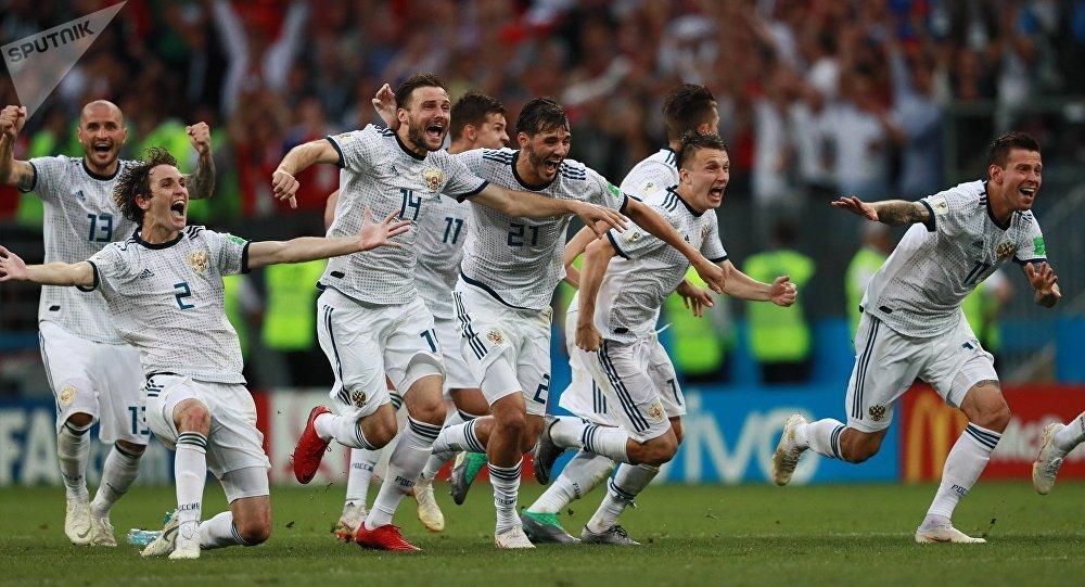 Сборная РФ обыграла Испанию ивышла в ¼ финалаЧМ