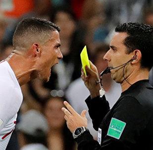 Футбол. ЧМ-2018. Матч Уругвай - Португалия