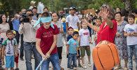 Фестиваль Каравана детских игр. Архивное фото