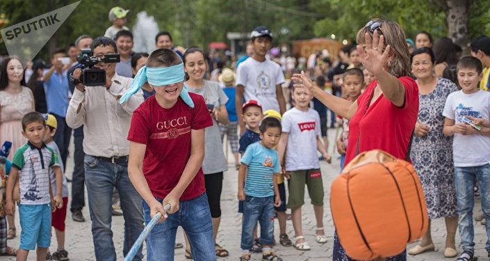 В столице завершилось шествие Каравана детских игр