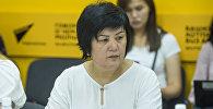 Саламаттык сактоо министрлигинин кадрдык иш жана билим берүү бөлүмүнүн башчысы Нурида Жусупбекова