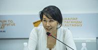 Депутат Жогорку Кенеша Аида Исмаилова. Архивное фото