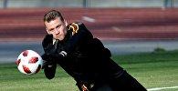 Бельгиянын футбол боюнча курама командасынын дарбазачысы Симон Миньоле