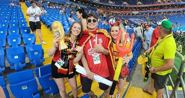 Бельгийский вратарь отыскал поклонника, который просил его футболку наЧМ