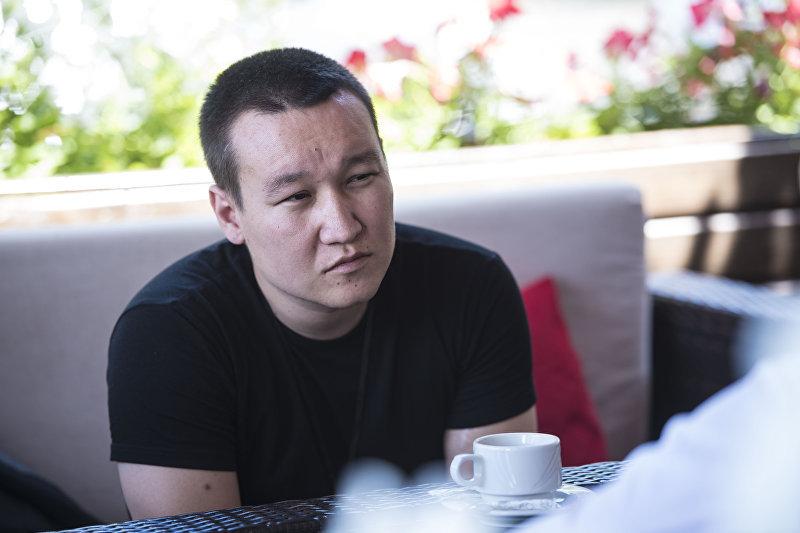 Шеф-редактор кыргызстанского хаба Sputnik Эркин Алымбеков