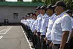 Сотрудники патрульно-постовой службы ГУВД Бишкека. Архивное фото