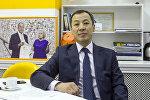 Статс-секретарь Государственной налоговой службы КР Жакып Карагул уулу. Архивное фото