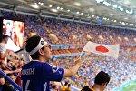 Япониялык футбол күйөрмандары. Архивное фото
