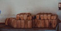 Хлебобулочная продукция изготавливаемая в пекарне города Баткен. Архивное фото