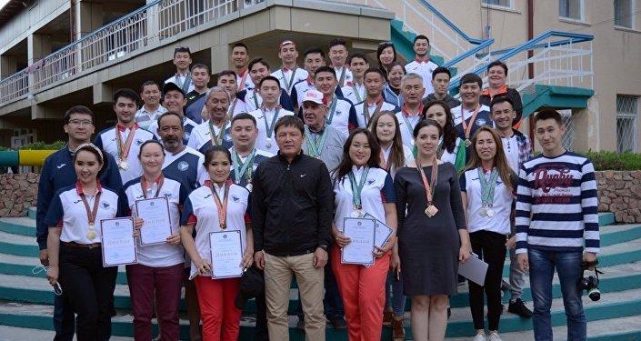 Соревнования среди спортивных журналистов Кочевник