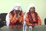 Обратно в Афганистан уезжают 18 памирских кыргызов. Видео, снятое в Бишкеке