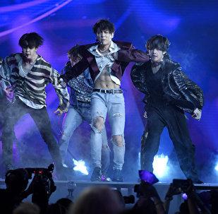 Южнокорейская поп-группа BTS. Архивное фото